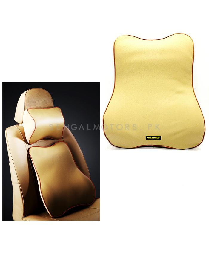 Maximus Back Rest Cushion Beige-SehgalMotors.Pk
