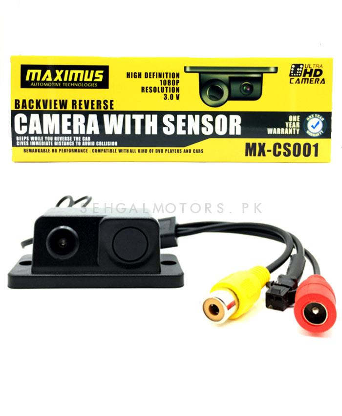 Maximus Reverse Camera with Parking Sensor – 1 Piece-SehgalMotors.Pk
