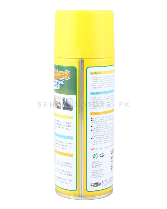 DG Furniture Polish 450ml   Yellow SehgalMotors.Pk