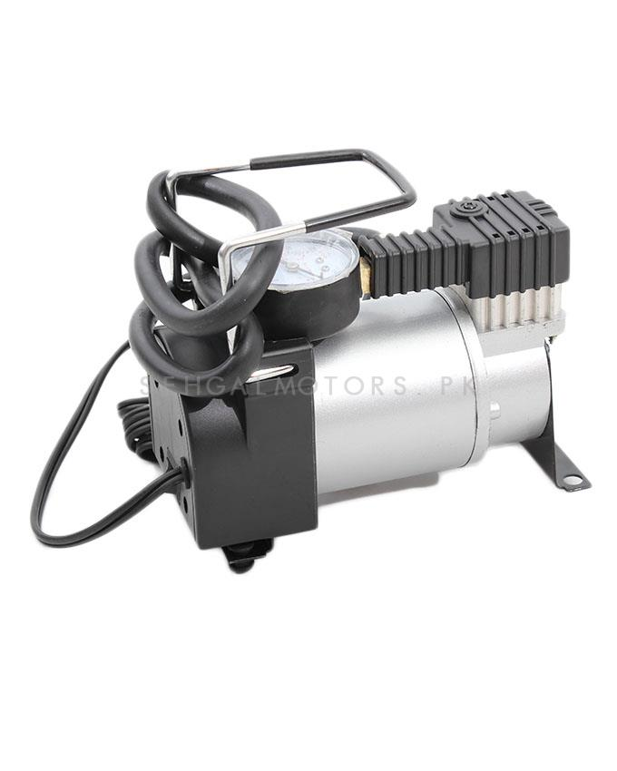 HT Single Cylinder Air Compressor Small 30 psi 12V Tire / Tyre Inflator-SehgalMotors.Pk