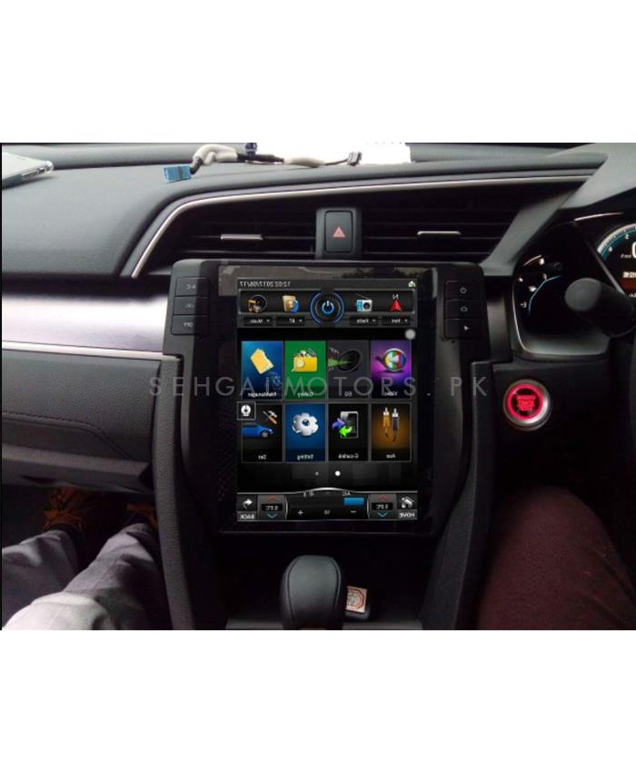 Buy Honda Civic LCD Multimedia System Android GPS Tesla ...