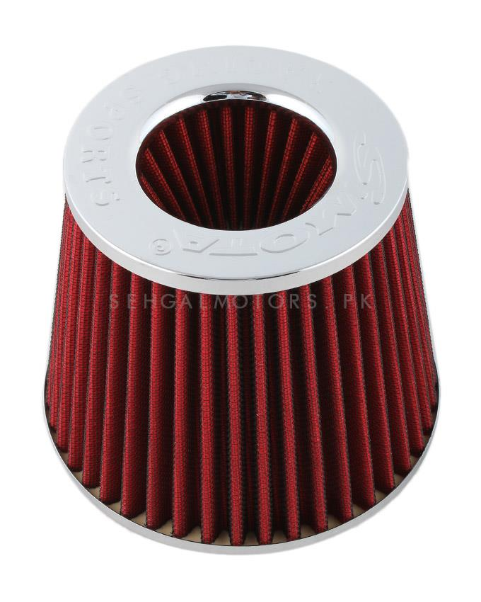 Simota Cold Air Intake Filter Red - Universal-SehgalMotors.Pk