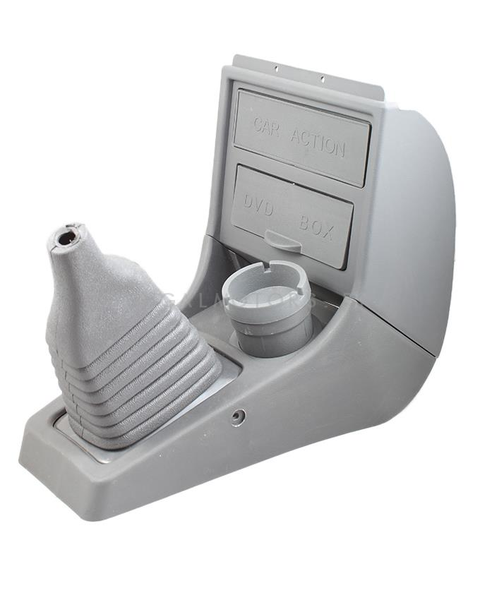 Suzuki Mehran Console Box with Cup Holder - Grey | Front Console With Organizer-SehgalMotors.Pk