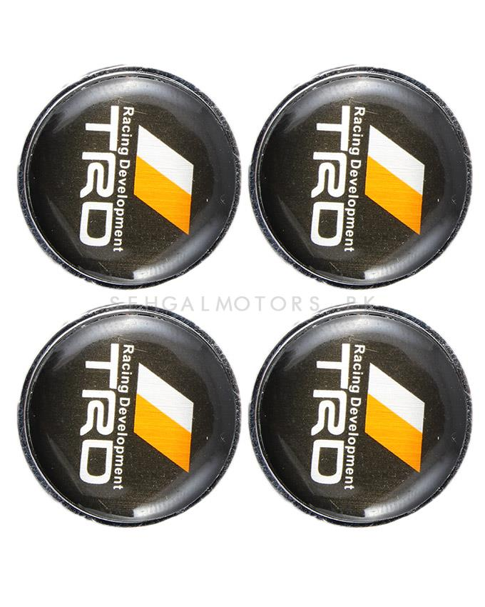 TRD Licence Plate Screws - Black-SehgalMotors.Pk