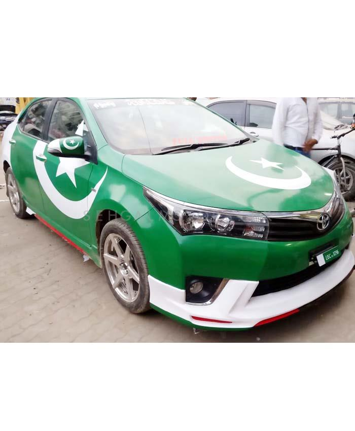 Buy Pakistan Flag Vinyl Wrap For Hatch Back Cars In Pakistan