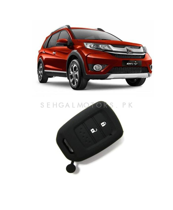 Honda BRV PVC / Silicone Protection Key Cover 2 Button - Model 2017-SehgalMotors.Pk