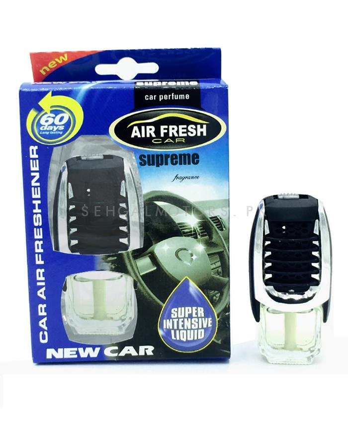 Supreme Grill Car Perfume Fragrance New Car| Car Perfume | Fragrance | Air Freshener | Best Car Perfume | Natural Scent | Soft Smell Perfume-SehgalMotors.Pk