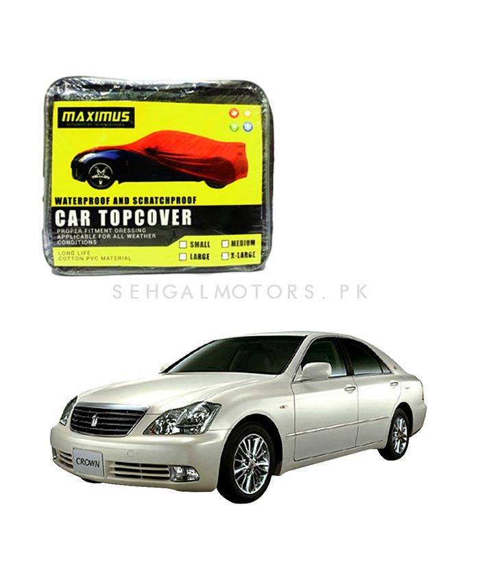 Toyota Crown Maximus Non Woven Scratchproof Waterproof Car Top Cover – Model 2003-2008-SehgalMotors.Pk