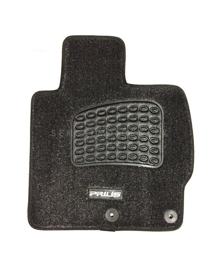 Toyota Prius Irani Custom Tufted Floor Mat Black - Model 2009-2015-SehgalMotors.Pk