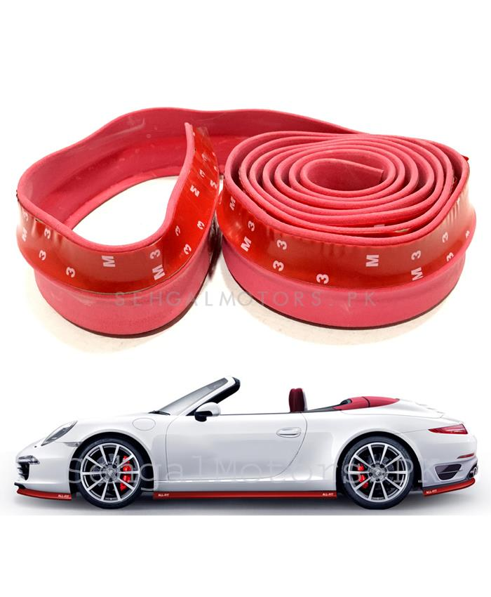 3M Adhesive Rubber Lip Red-SehgalMotors.Pk