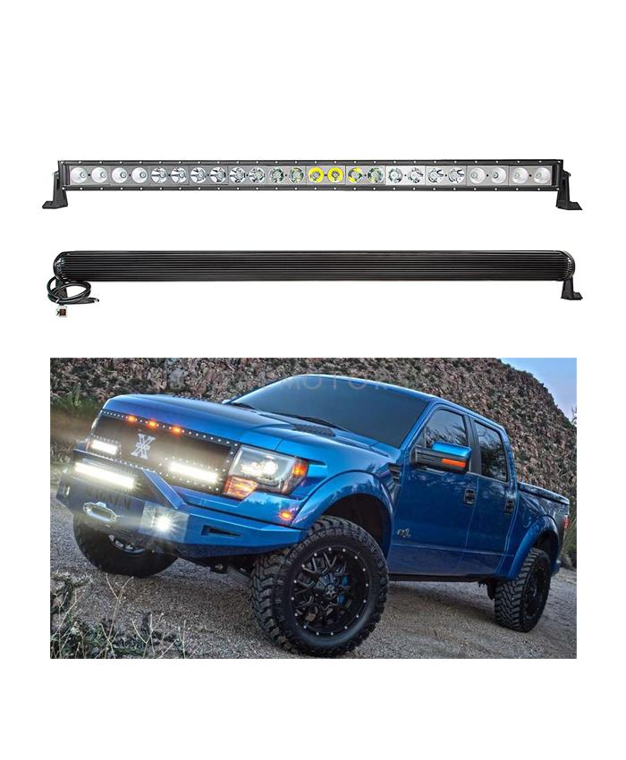 Front LED Bar Light 40w - 42 inches-SehgalMotors.Pk