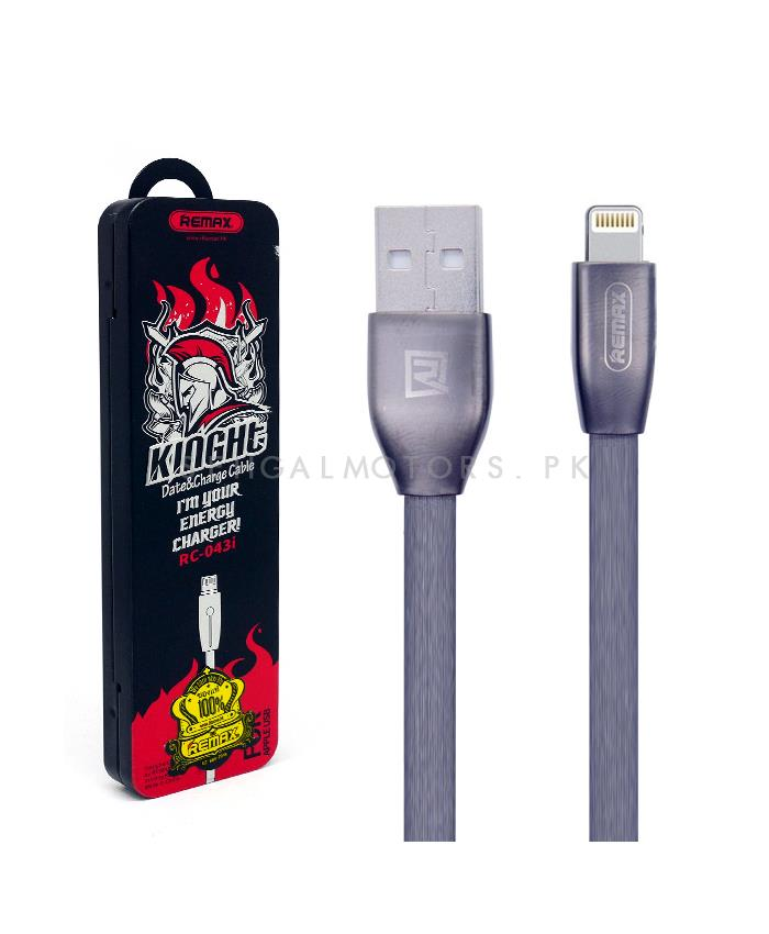 Remax Iphone Charging cables - RC-043i   Charging Cable   Mobile Cable   Charger Cable   Data Cable-SehgalMotors.Pk