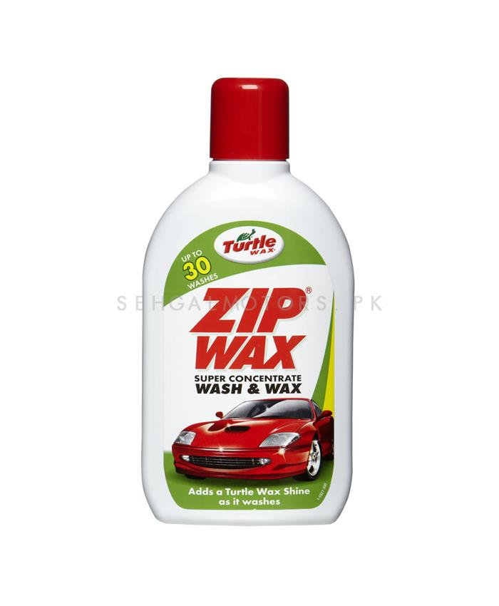 Turtle Wax Zip Wax Super Concentrate Wash and Wax - 500ml-SehgalMotors.Pk