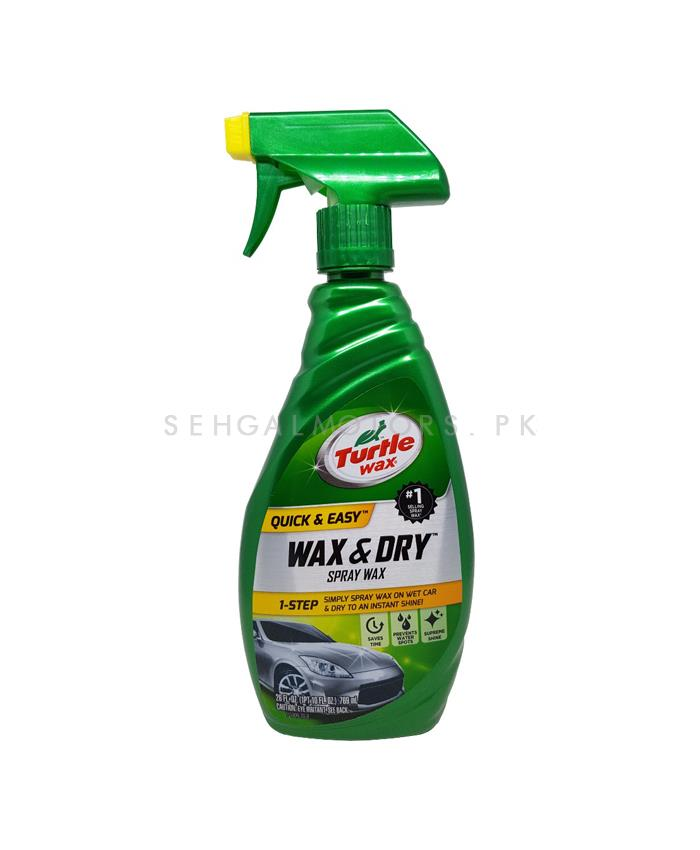 Turtle Wax and Dry Spray Wax - 26Oz-SehgalMotors.Pk