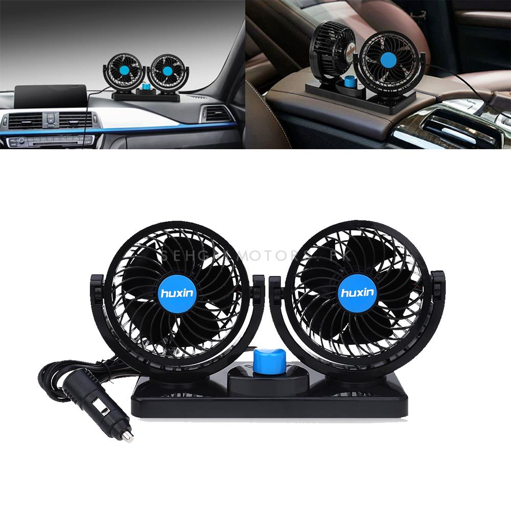 Rotatable Dual Speed Car Electric Fan-SehgalMotors.Pk
