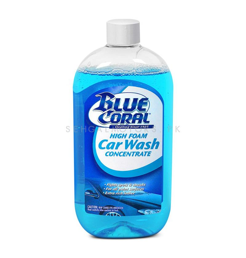 Blue Coral Car Wash 591 ml   Car Shampoo   Car Cleaning Agent   Car Care Product   Glossy Touch Shampoo   Mirror Like Shine-SehgalMotors.Pk