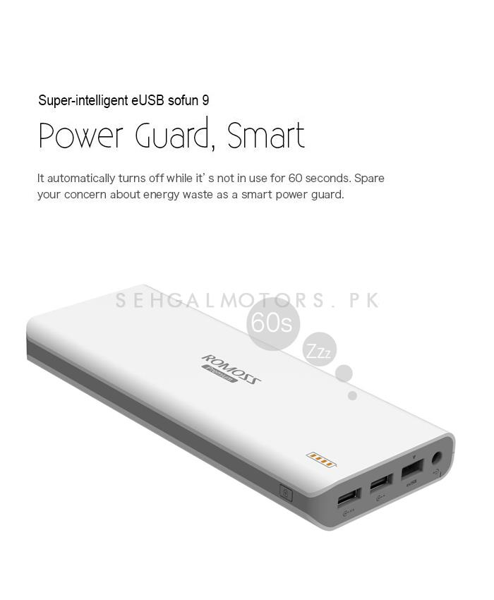 Romoss Laptop Power Bank 23400 MAH EUSB - Sofun 9-SehgalMotors.Pk