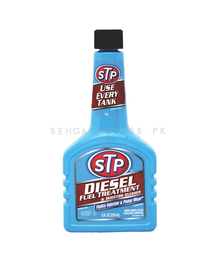 STP Diesel Treatment & Injector Cleaner - 236ML | Keep The Engine Working | Cleaning Agent Restore Performance | Increase Power Diesel Oil Fuel Additive-SehgalMotors.Pk