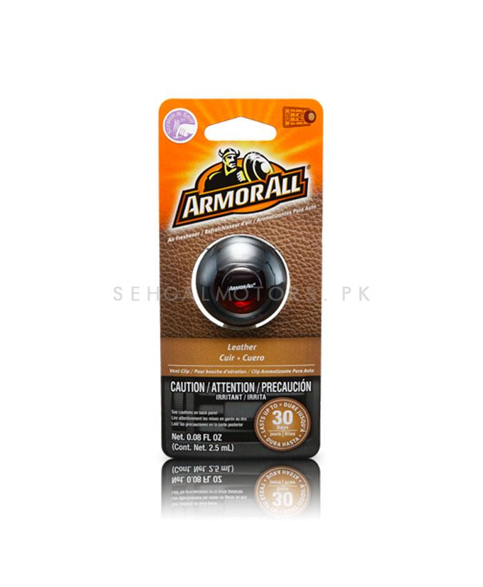 Armor All Vent Air Freshener leather - 2.5 ML-SehgalMotors.Pk