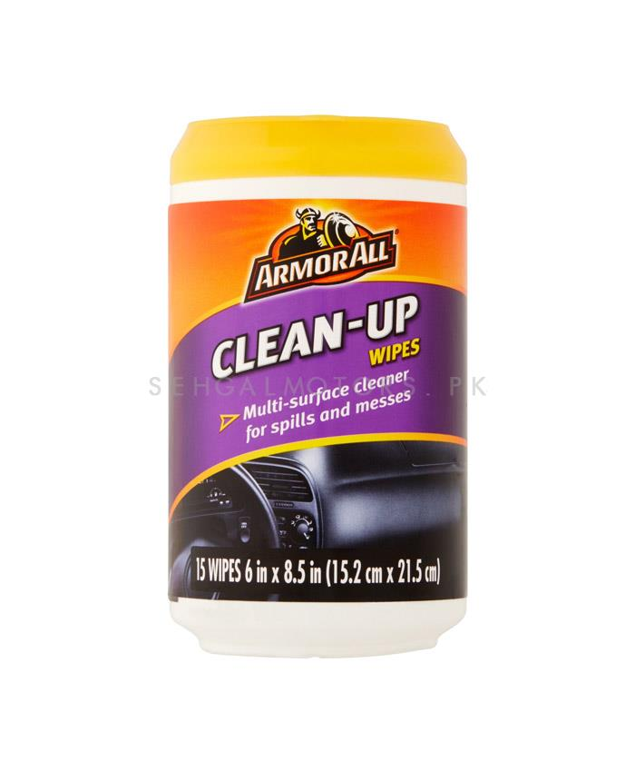 Armor All Clean Up Wipes-SehgalMotors.Pk
