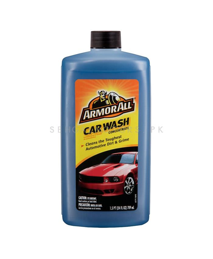 Armor All Car Wash - 709 ML | | Car Shampoo | Car Cleaning Agent | Car Care Product | 2 in 1 Product | Glossy Touch Shampoo | Mirror Like Shine-SehgalMotors.Pk