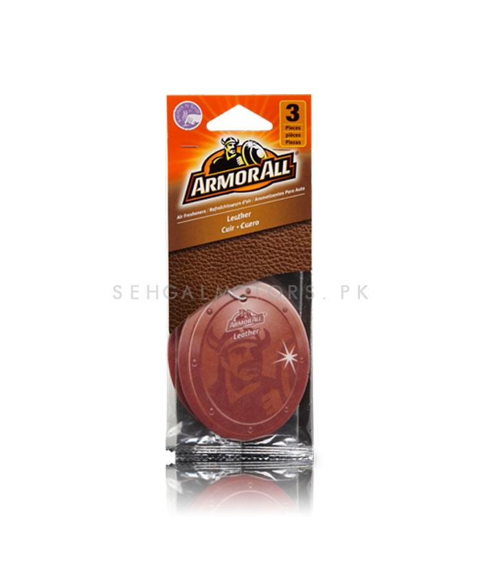 Armor All Air Freshener Car Perfume FragranceCard Leather - 3ct-SehgalMotors.Pk