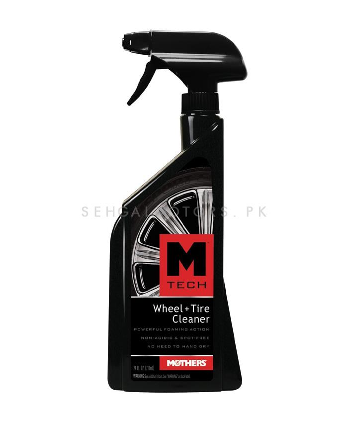 Mothers M-Tech Wheel & Tires Cleaner - 24oz-SehgalMotors.Pk
