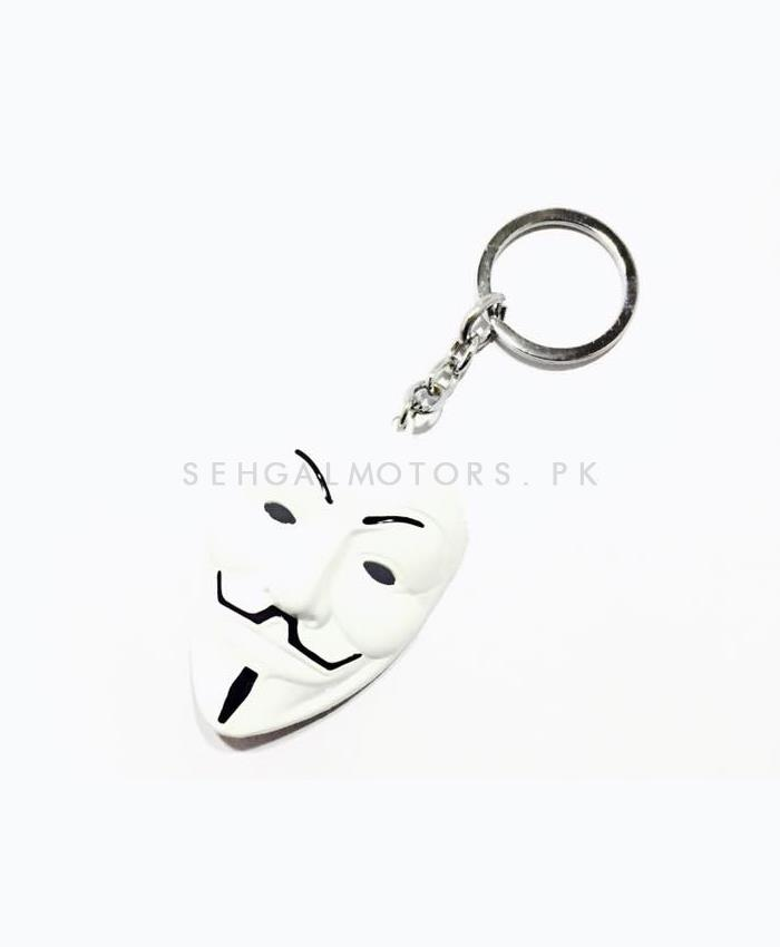 Vendetta Key Chain - White-SehgalMotors.Pk