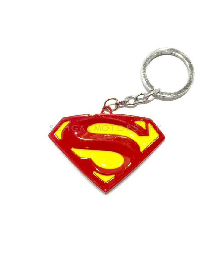Super Man Key Chain - Red And Yellow-SehgalMotors.Pk