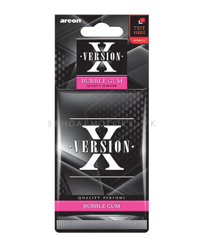 Areon X Version Card Bubble Gum-SehgalMotors.Pk