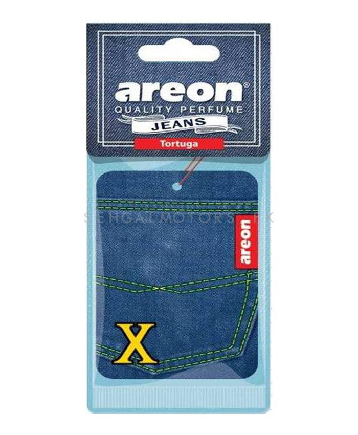 Areon Jeans Card Tortuga Car Perfume Fragrance Air Freshener -SehgalMotors.Pk