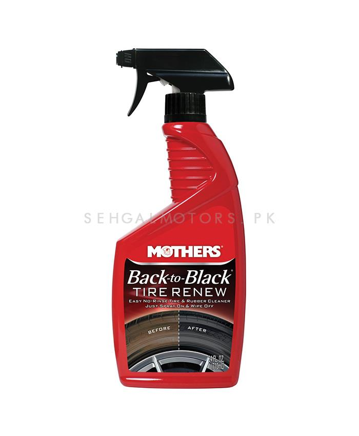 Buy Mothers Back To Black Tyres Renew Cleaner 24 Oz In