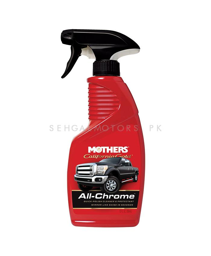 Mothers All Chrome Quick Polish Cleaner - 12 OZ-SehgalMotors.Pk