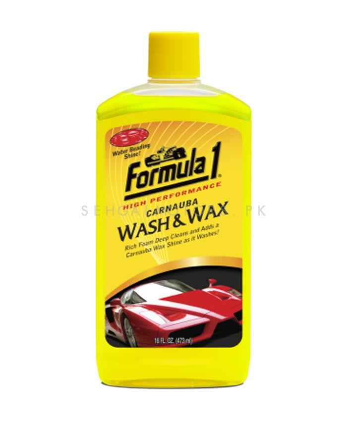 Formula 1 Carnauba Wash & Wax - 16oz-SehgalMotors.Pk