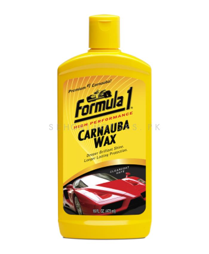 Formula 1 Carnauba Liquid Car Wax-SehgalMotors.Pk