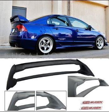 Honda Civic Mugen RR Spoiler - Model 2006 - 2012-SehgalMotors.Pk