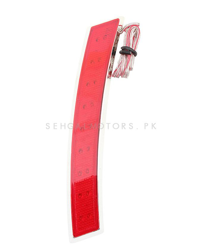 3M colored Side Marker Lamp Red - Pair-SehgalMotors.Pk