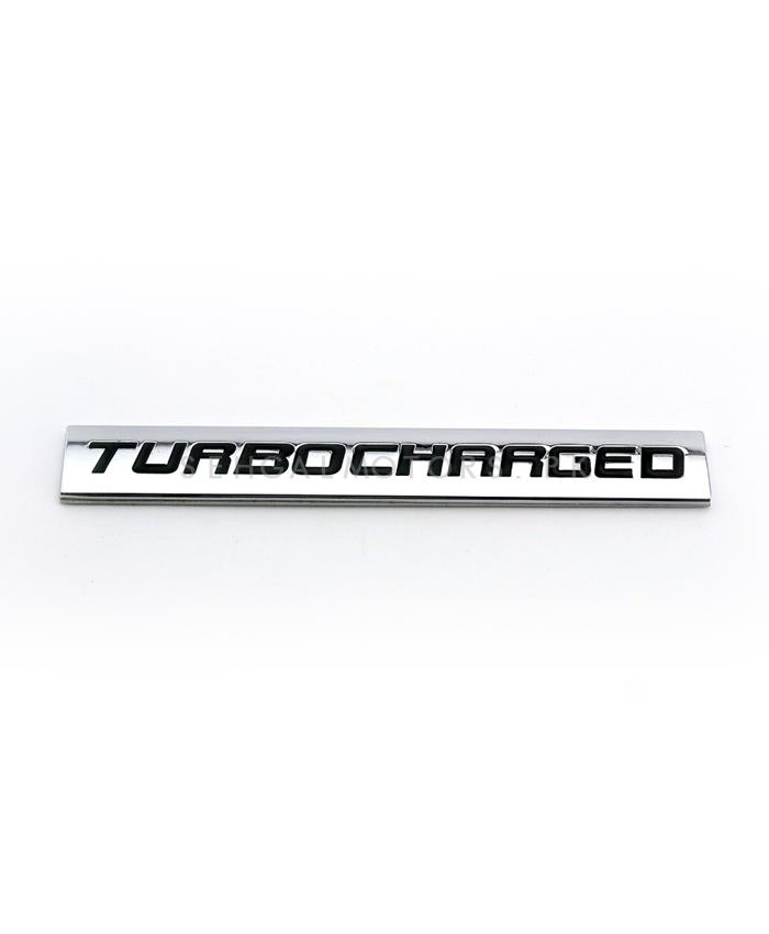 Turbo Charged Emblem-SehgalMotors.Pk
