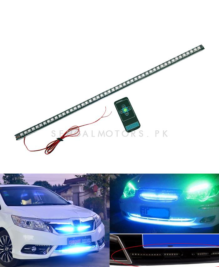 Knight Rider Light with Remote for Grille-SehgalMotors.Pk