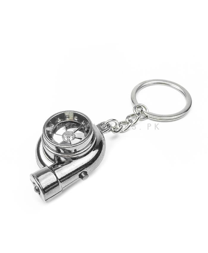 Turbo Key Chain / Key Ring with Sound and LED-SehgalMotors.Pk