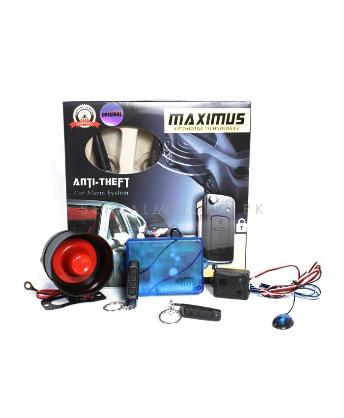 Maximus Car Alarm System - Pencil Shape-SehgalMotors.Pk