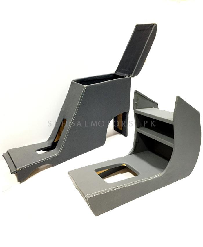 Daihatsu Cuore Arm Rest And Console | Center Console Storage Box | Center Console | Elbow Rest Arm Holder-SehgalMotors.Pk