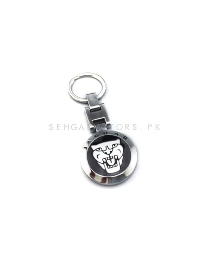 Jaguar Metal Key Chain / Key Ring | Key Chain Ring For Keys | New Fashion Creative Novelty Gift Keychains-SehgalMotors.Pk