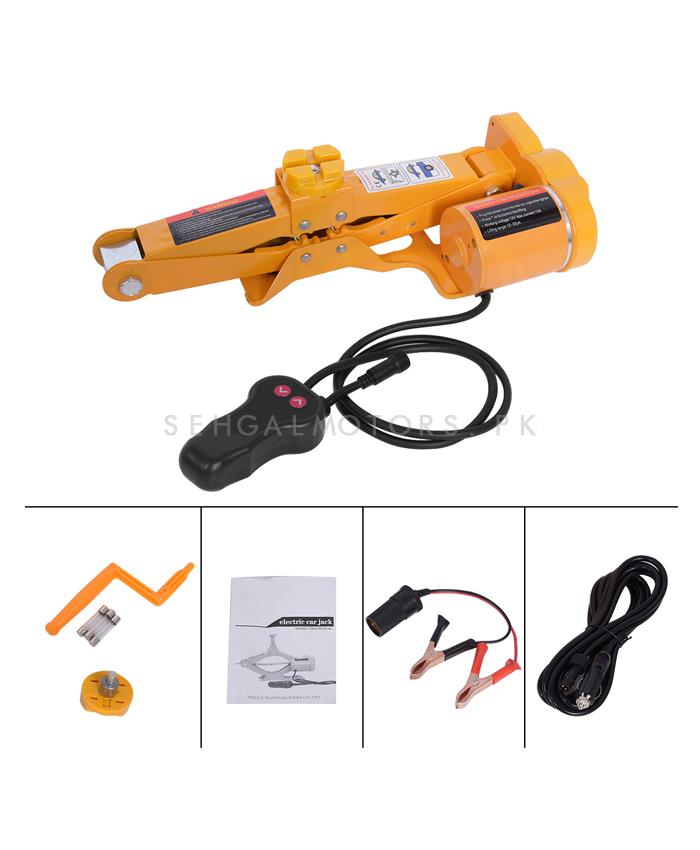 Buy Electronic Car Jack 12v With Tool Kit 2 Ton In Pakistan
