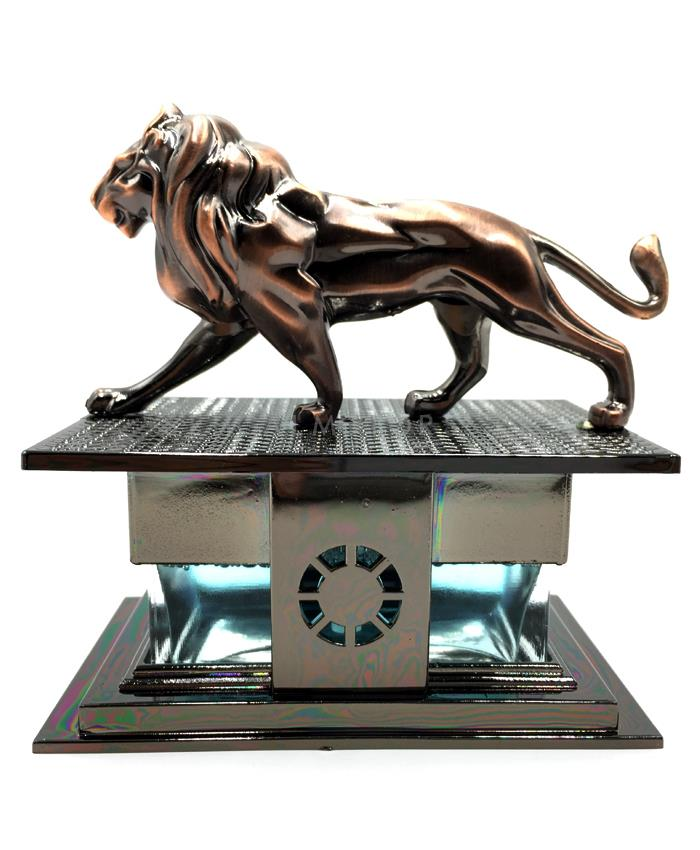 Lion Sculpture Car Dashboard Car Perfume Fragrance-SehgalMotors.Pk