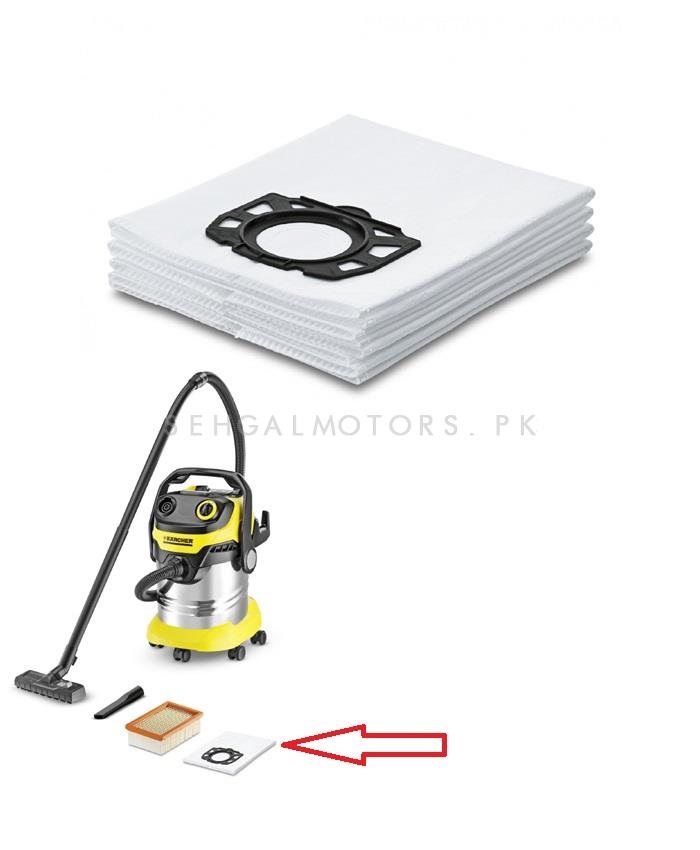 Karcher Fleece  Vacuum Filter Bags WD 5 WD 6-SehgalMotors.Pk