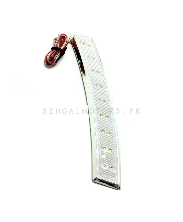 3M Colored Side Marker Lamp White - Pair-SehgalMotors.Pk
