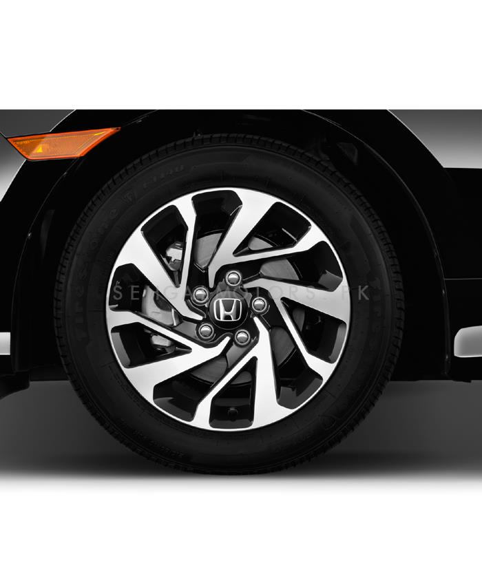 Honda Civic Premium Quality Alloy Rim 4 Pieces - Model 2016-2021 | Civic X | Type R |  Oem Style | Original Style Alloy Rim | Strong A+ Quality | Best Quality Civic Alloy Rims-SehgalMotors.Pk