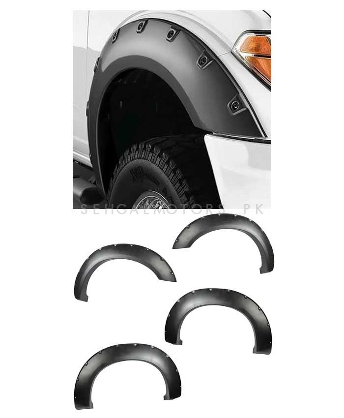 Buy Fender Flare Extension Universal Black 4 Pieces In Pakistan