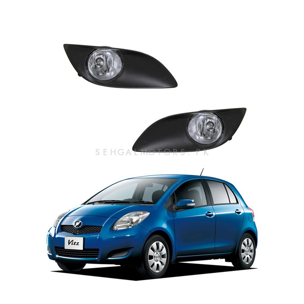 Buy Toyota Vitz Fog Lamps Model 2008 2009 Ty370 In